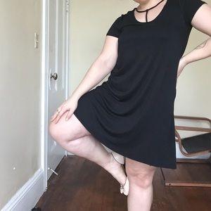 NWOT Black choker style dress